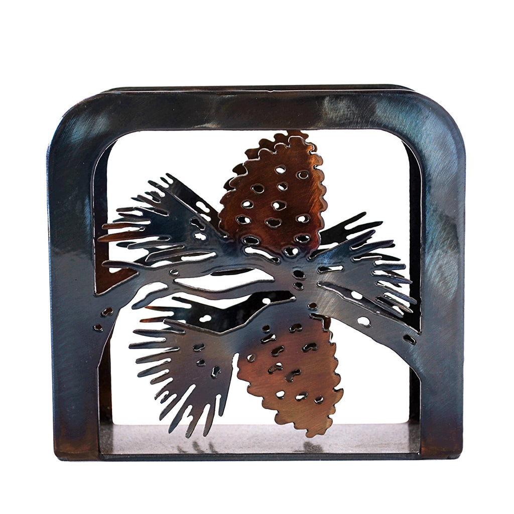 Pine Cones Large Napkin Holder