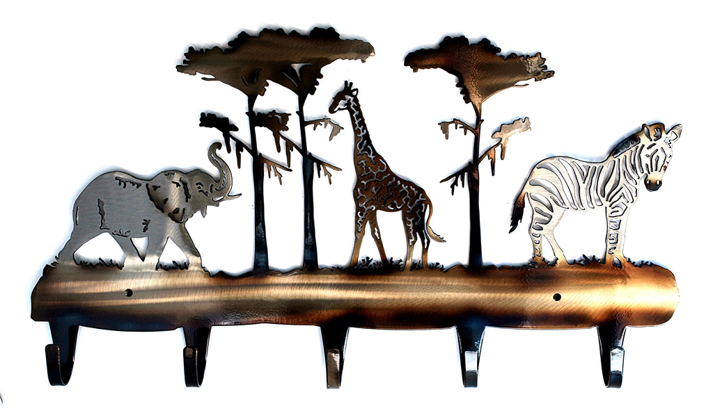 Safari 5 Hook Coat Rack