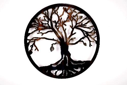 Tree of Life Circle Art