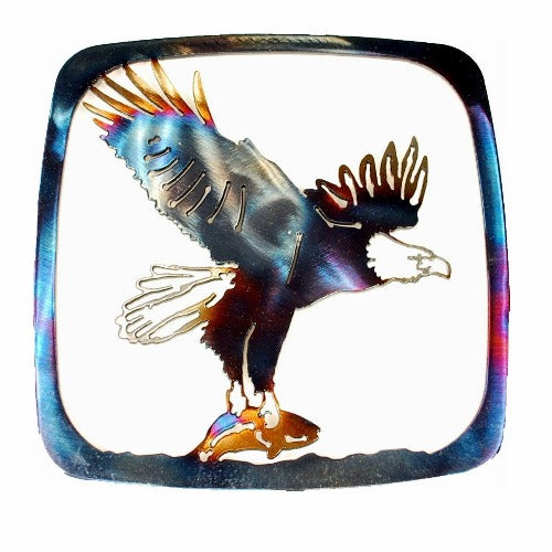 Eagle With Fish Trivet