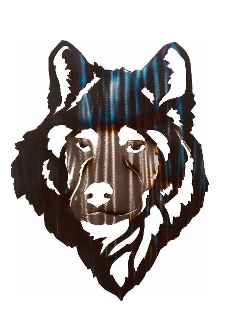 Wolf Head Wall Art