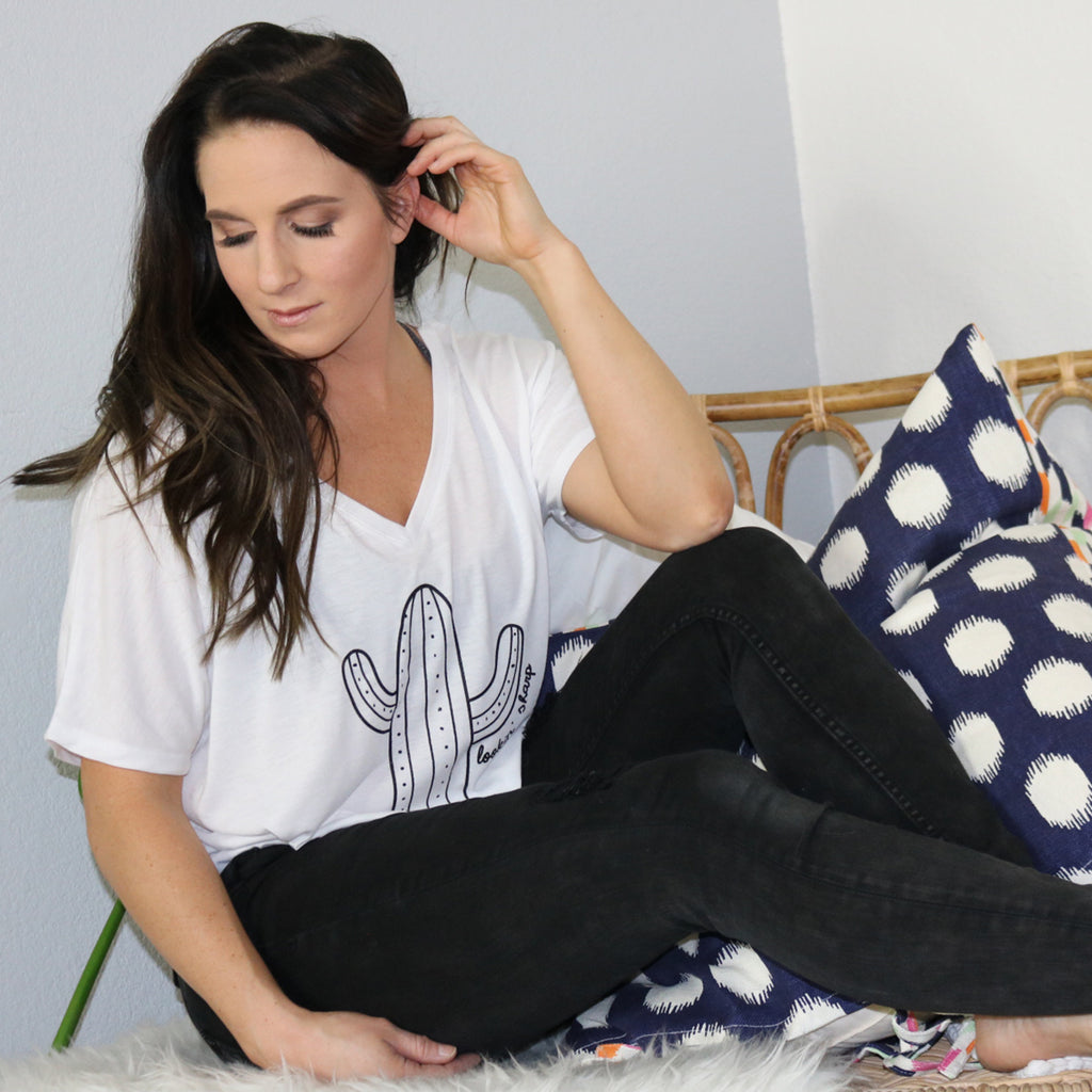 Lookin Sharp {Flowy Tee}