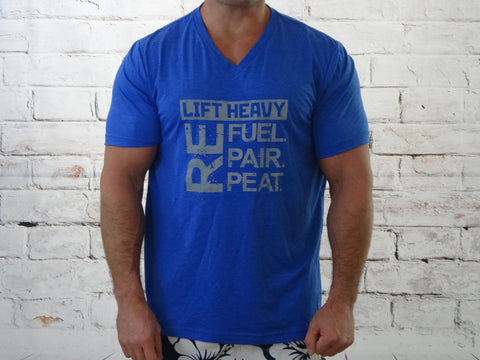 Lift Heavy Refuel Repair Repeat {Men's T-shirt}