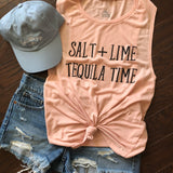Salt Lime Tequila Time {Women's Tank}
