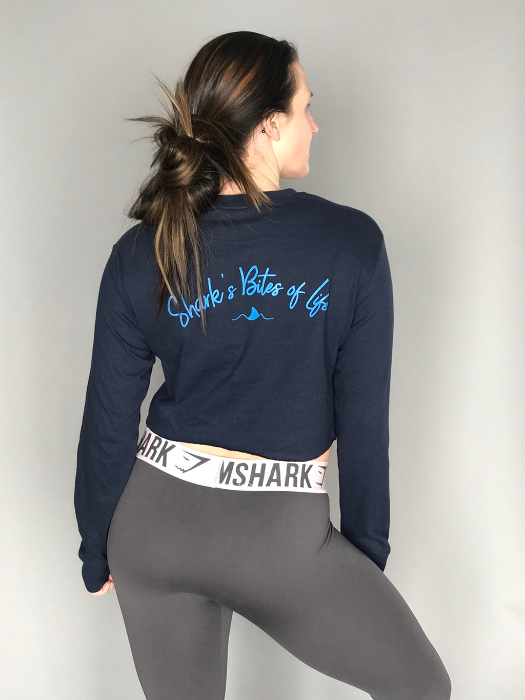 Shark's Bites of Life {Long Sleeve}