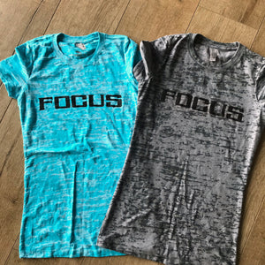 Focus Burnout {Short Sleeve Tee}