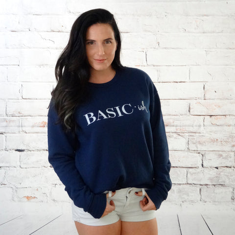 basic sweatshirt women's by sharks bites of life