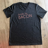 Body By bacon shirt for men and women