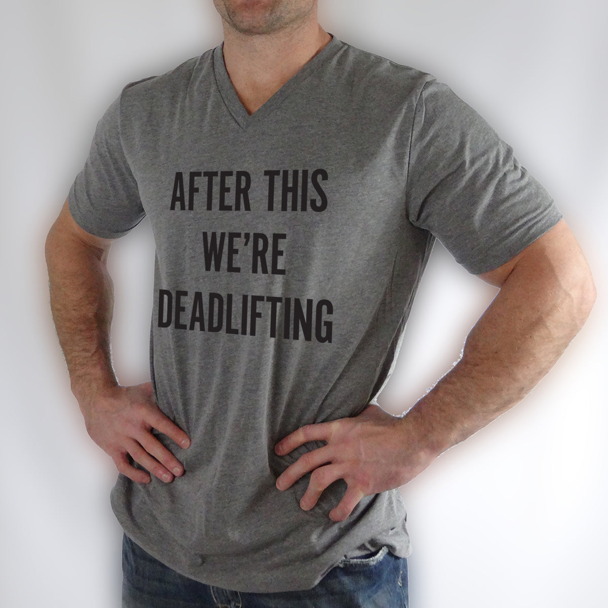 Deadlifting shirt, mens workout shirt, after this we're deadlifting, after this we're getting pizza,