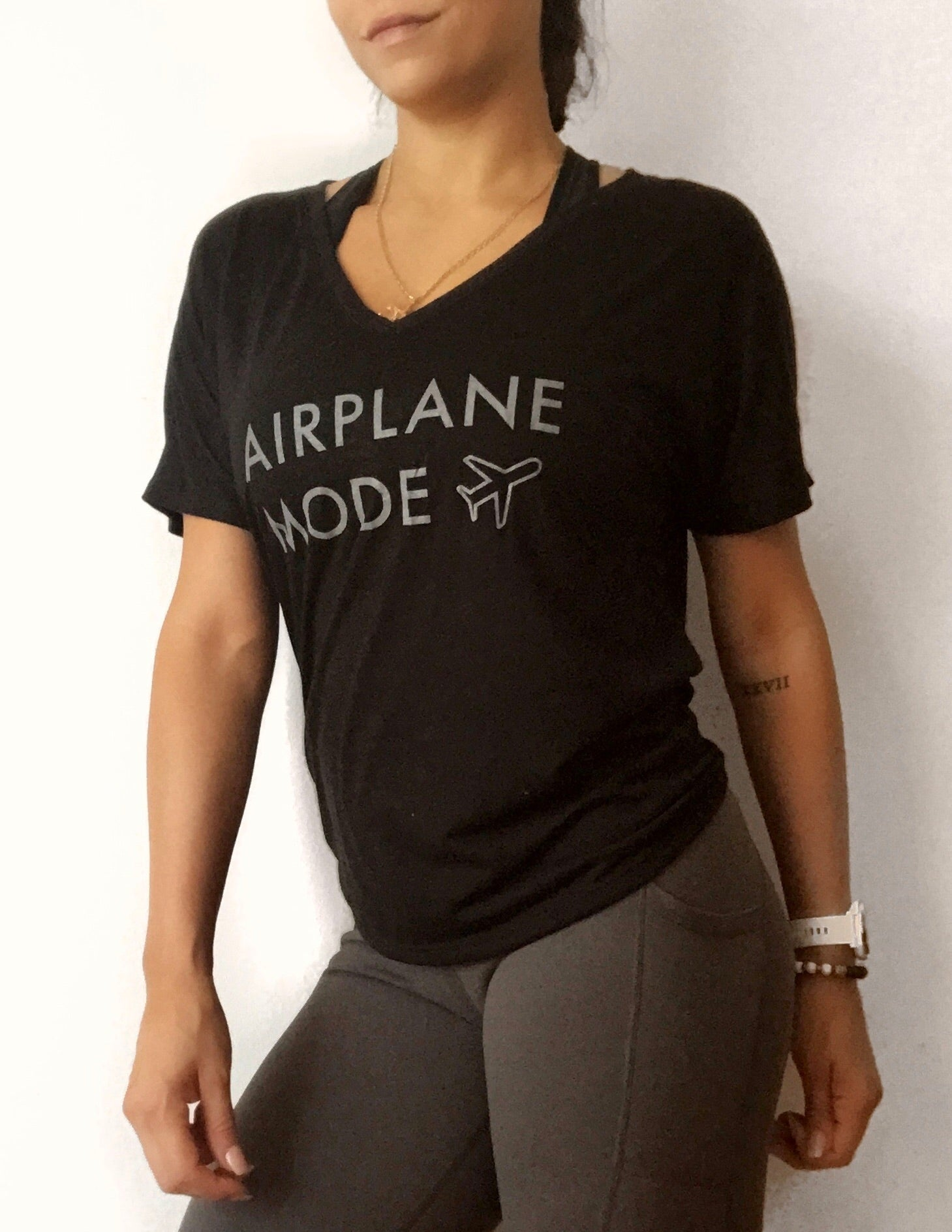 Airplane Mode {Women's T-shirt}