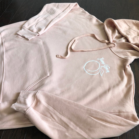 Home Grown Georgia Peach {Peach Hoodie}