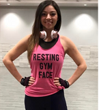 Resting Gym Face {Tank Top}