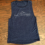 Save the Sharks {Muscle Tank Top}