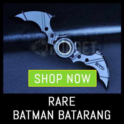 Batman Fidget Spinner Toys Sale - Batman Batarang Fidget Spinner