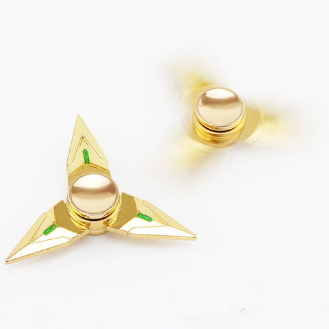 fidget spinner overwatch genji metal gold fun kids toy on sale now