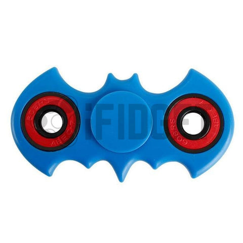 Batman Fidget Spinner Plastic Blue On Sale 2017 Best Kids Toy Fun Stress ADHD Relief