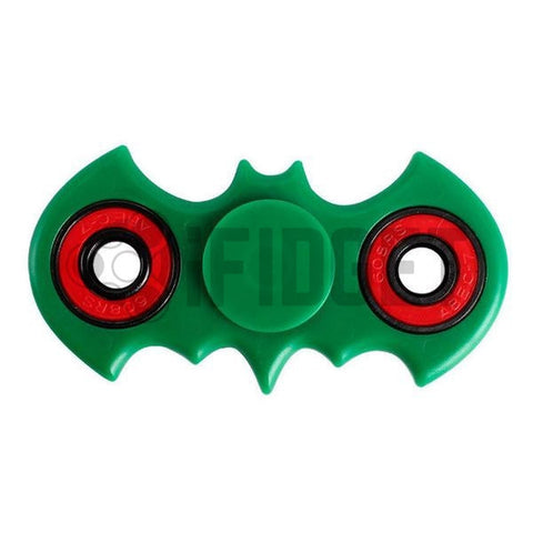 Batman Fidget Spinner Plastic Green On Sale 2017 Best Kids Toy Fun Stress ADHD Relief