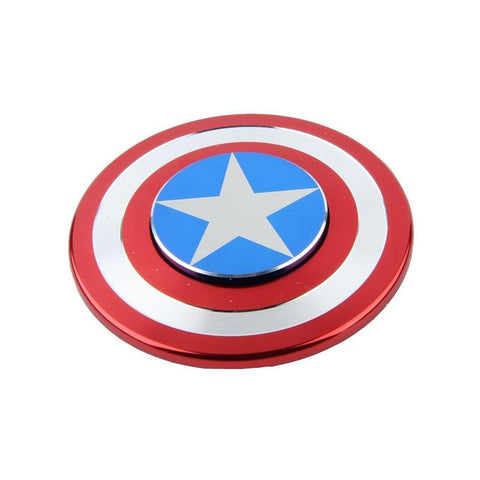 fidget spinner marvel captain america shield fun kids toy metal red white 2017 best spinner