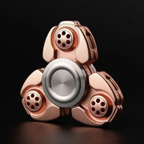 2017 Best Fidget Spinner Toy Sale - Buy NEW Metal Fidget Spinner Classic Copper Stress Relief Toy