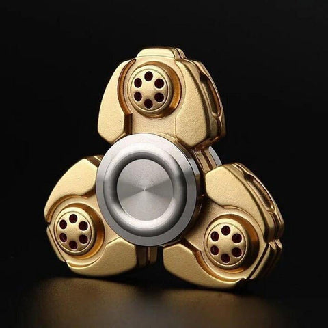 2017 Best Fidget Spinner Toy Sale - Buy NEW Metal Fidget Spinner Classic Gold Stress Relief Toy