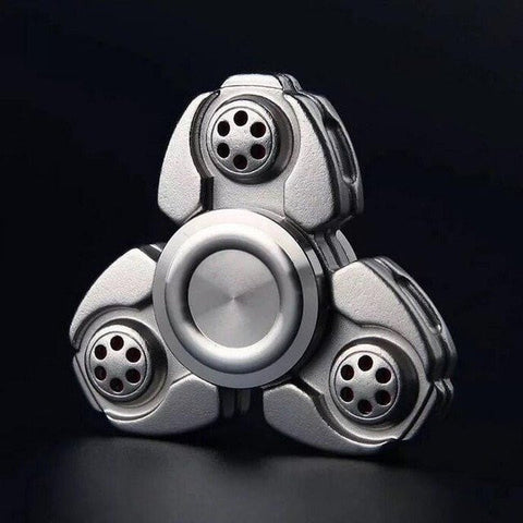 2017 Best Fidget Spinner Toy Sale - Buy NEW Metal Fidget Spinner Classic Silver Stress Relief Toy