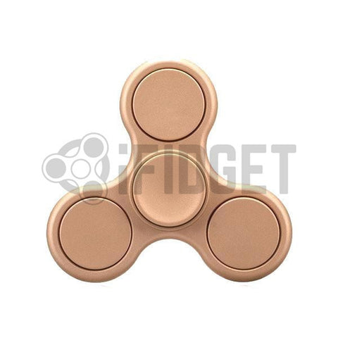 2017 Best Fidget Spinner Toy - Buy Matte Gold Fidget Spinner Stress Relief Toy On Sale