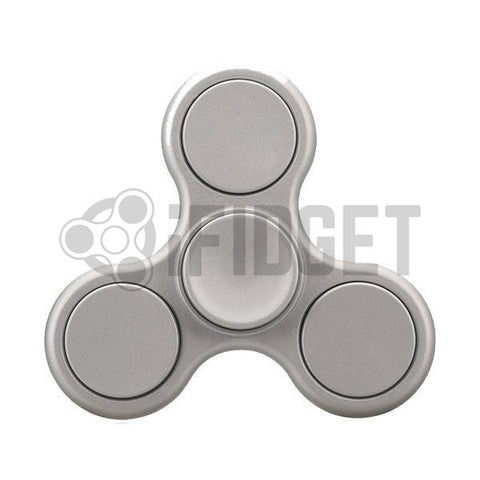 2017 Best Fidget Spinner Toy - Buy Matte Silver Fidget Spinner Stress Relief On Sale