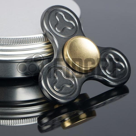 2017 Best Fidget Spinner Toy Sale - Buy Deluxe Metal Fidget Spinner (Black) Stress Relief Toy