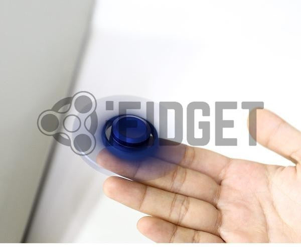 fidget spinner blue fidget toy metal fun kids toy sale spinning real original