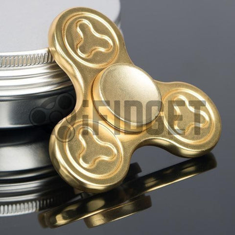 2017 Best Fidget Spinner Toy Sale - Buy Deluxe Metal Fidget Spinner (Gold) Stress Relief Toy