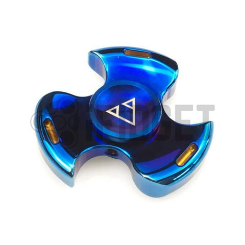 2017 Best Fidget Spinner Toy Sale - Buy Stainless Steel Fidget Spinner blue Stress Relief Toy