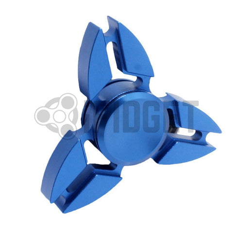 2017 Best Fidget Spinner Toys Sale - Buy Rare Metal Fidget Spinner Blue by iFidget Stress Relief Toy