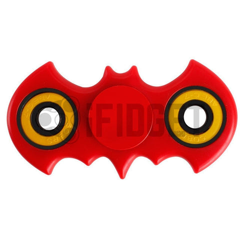 Batman Fidget Spinner Plastic Red On Sale 2017 Best Kids Toy Fun Stress ADHD Relief