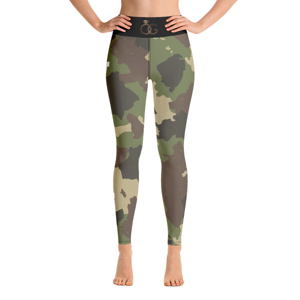 Varsity Camo Yoga Leggings