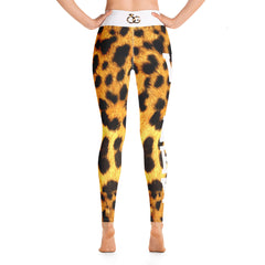 Varsity Leopard Yoga Leggings