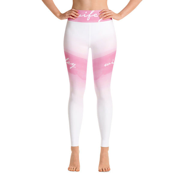 Watercolor Yoga Leggings
