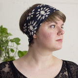 Carnivore Skull Patterned Blue Headband