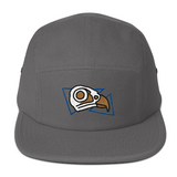 This hat comes in gray or grey as well as three other color options