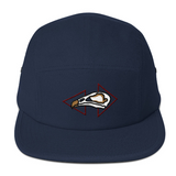 This hat comes in Blue as well as four other color options