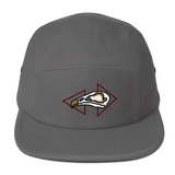 This hat comes in gray or grey as well as four other color options