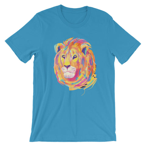 Image of Eclectic Lion Unisex short sleeve t-shirt - CalvinMade