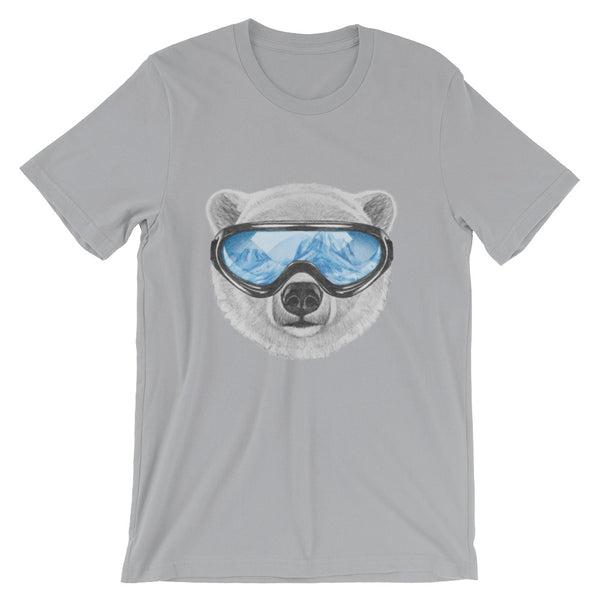 Polar View Unisex short sleeve t-shirt - CalvinMade