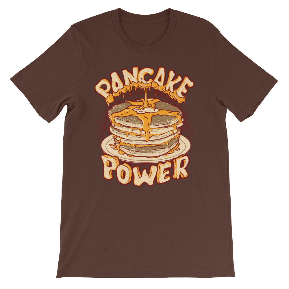Pancake Power Short-Sleeve Unisex T-Shirt - CalvinMade