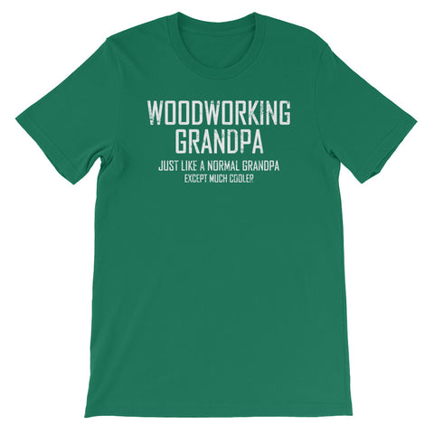 Image of Woodworking Grandpa Unisex short sleeve t-shirt - CalvinMade
