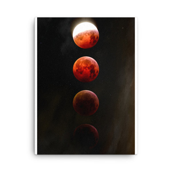 Blood Moon Canvas - CalvinMade