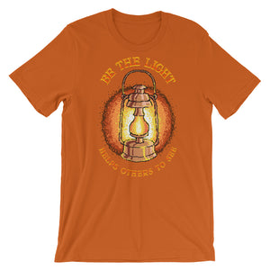 Retro Be the Light Help others to see Short-Sleeve Unisex T-Shirt