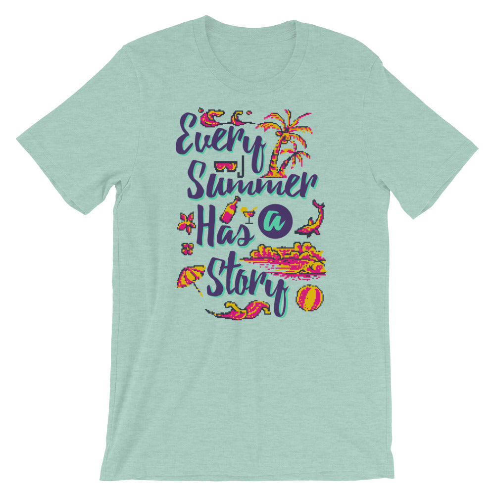 Retro Every Summer has a story Short-Sleeve Unisex T-Shirt