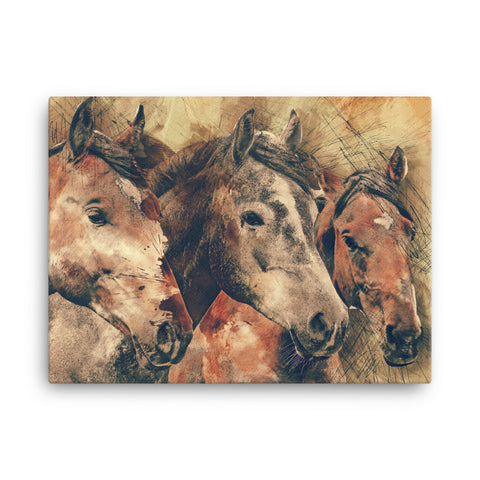 Image of Horse Canvas