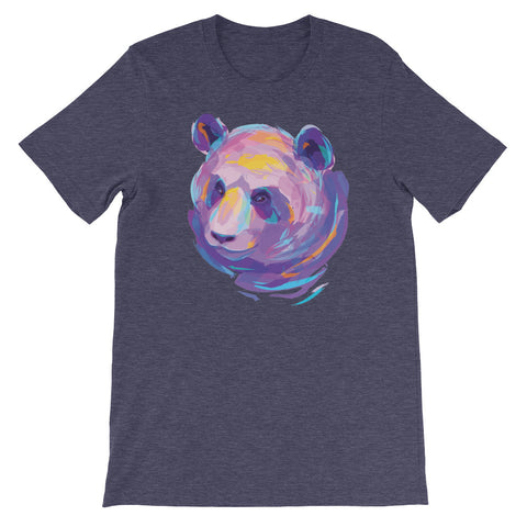 Image of Eclectic Panda Unisex short sleeve t-shirt - CalvinMade