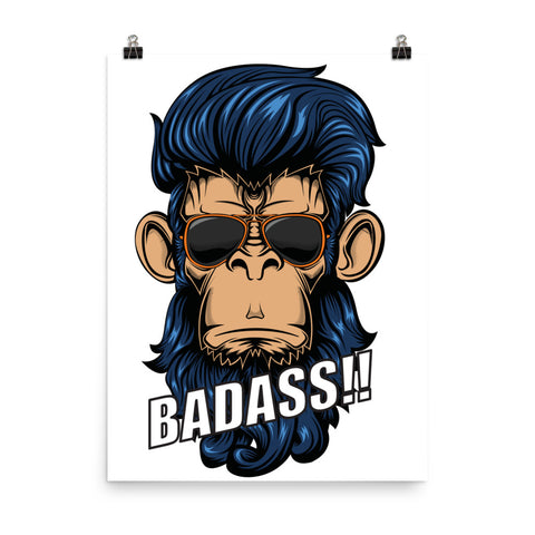 Bad Monkey Poster - CalvinMade